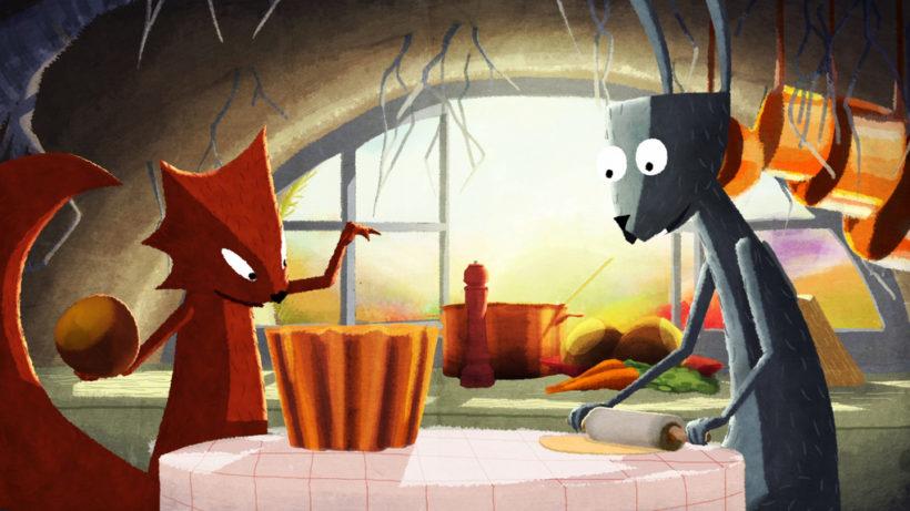 """""""Le Parfum de la carotte"""" von Rémi Durin & Arnaud Demuynck © Les Film du Nord"""