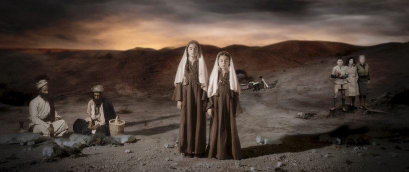 """""""In the Future they ate from the finest Porceilain"""" von Larissa Sansour & Søren Lind, DK/QatarUK 2015"""