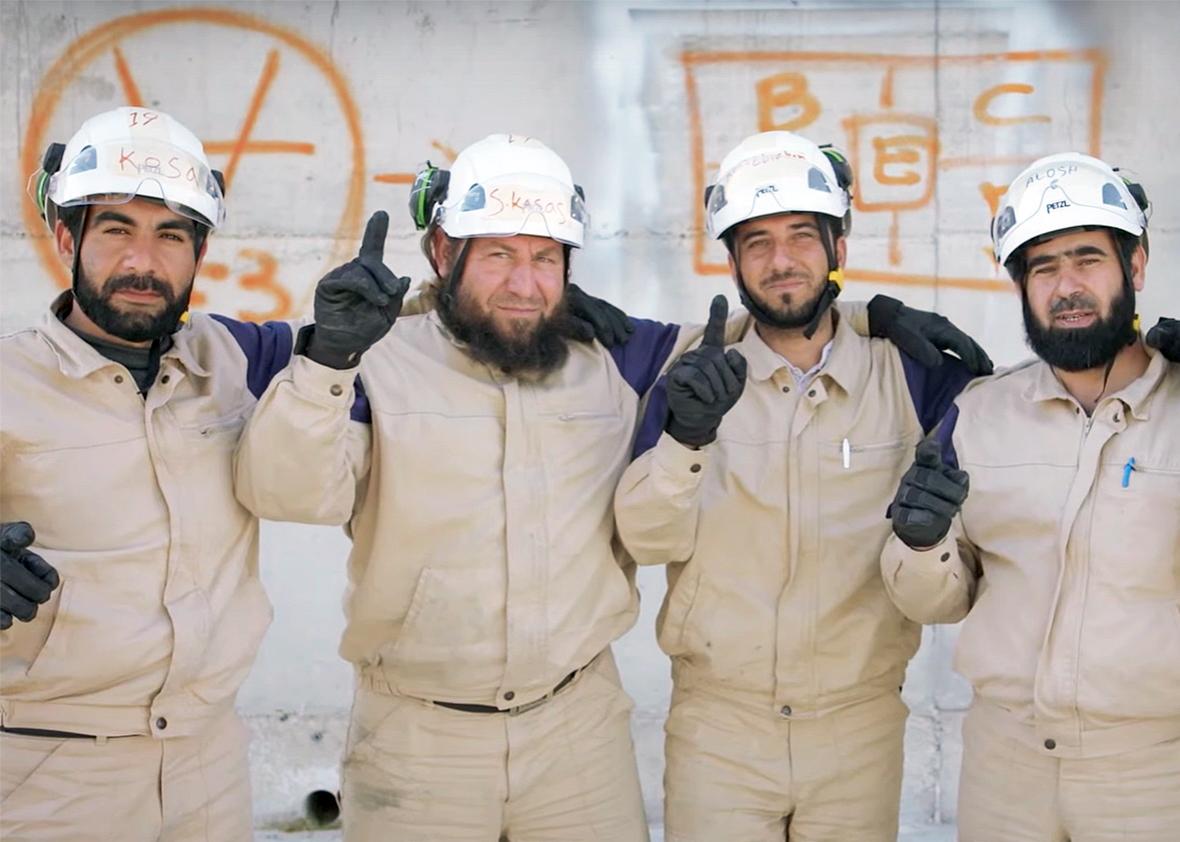 """""""The White Helmets"""" © Orlando von Einsiedel"""
