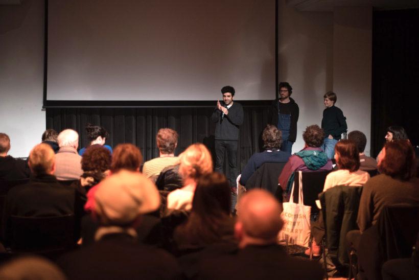 Veranstaltung DIFFRAKTION im Silent Green Kulturquartier 2016 © LaborBerlin e.V.
