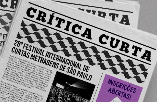 Crítica Curta Inscrições Abertas!