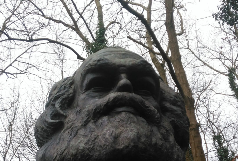 Karl Marx Grave Highgate Cemetery, London