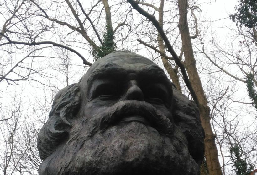 Karl Marx Grave Highgate Cemetery, London