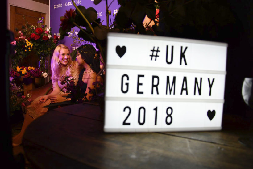 UK/Germany 2018 Launch Party in Berlin © British Council